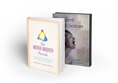 silent female scream - mother daughter puzzle