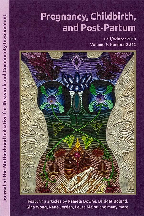 Journal of motherhood magazine cover